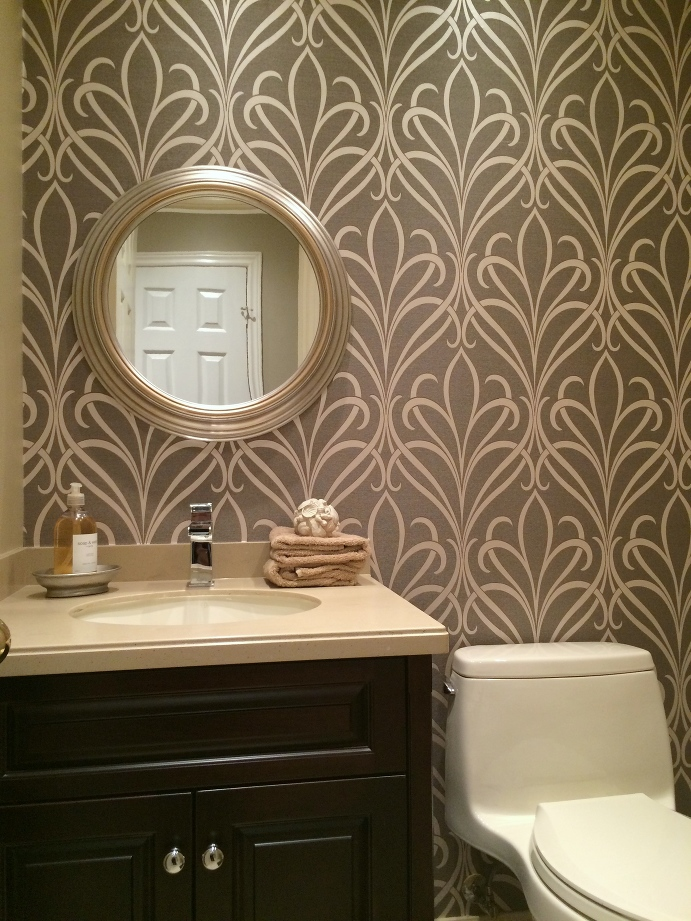 Powder Room, Wallpaper