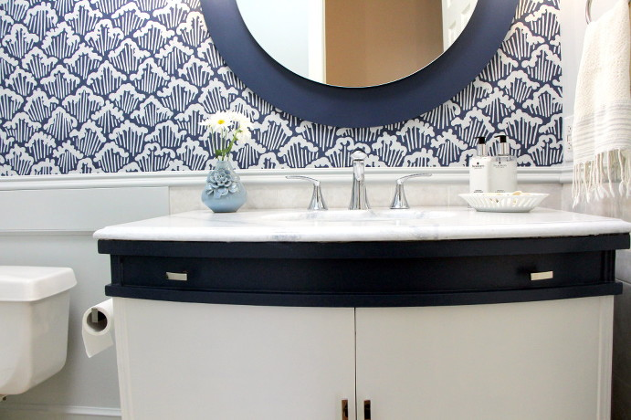 Powder Room Counter Sink