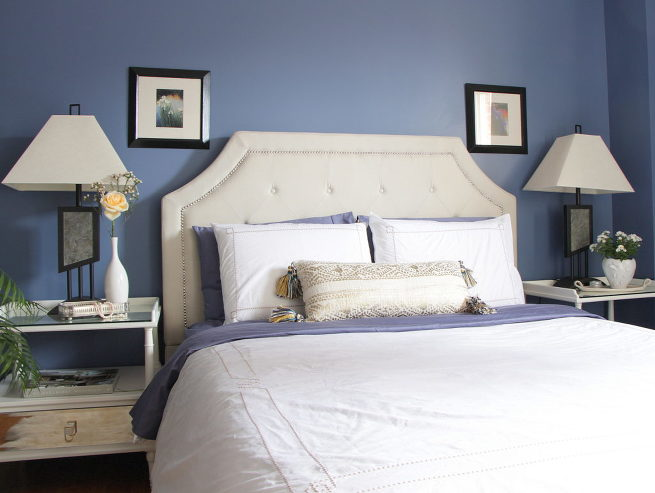 Blue Bedroom, Livia Drennan Interior Design